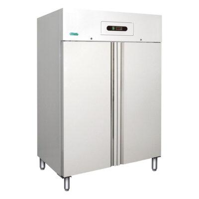 Dulap congelare cu 2 usi din aluminiu, 1104 litri