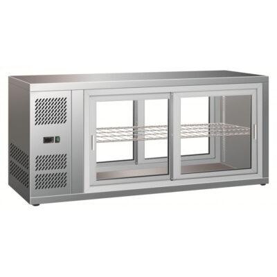 Vitrina frigorifica pentru cofetarie/patiserie, 1310x515x555mm