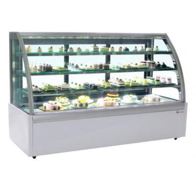 Vitrina frigorifica pentru cofetarie/patiserie, 1505x740x1315mm