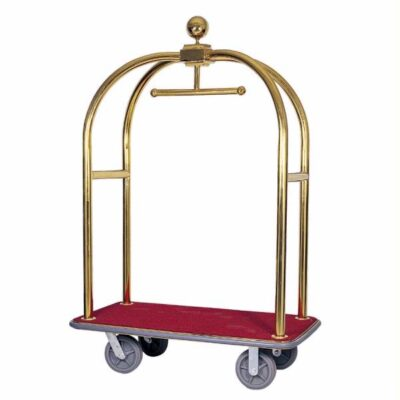 Carucior bagaje cu suport pentru haine, 1240x640x1900mm