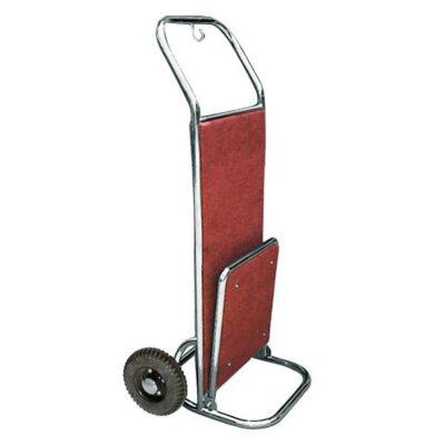 Carucior bagaje din inox cu 2 roti, 560x700x1200mm