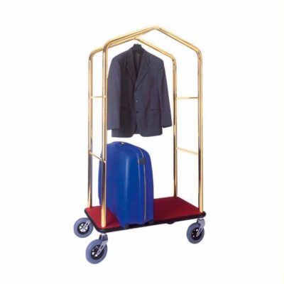 Carucior bagaje cu suport pentru haine, 950x550x1830mm