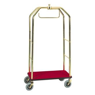 Carucior bagaje cu suport pentru haine, 950x550x1900mm