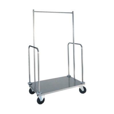 Carucior bagaje cu suport pentru haine, 1000x560x1600mm