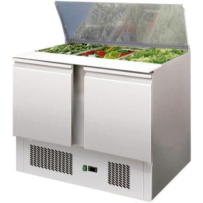 Saladeta cu 2 usi, 1045x700x875mm