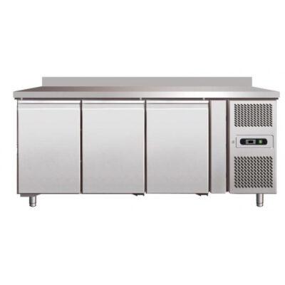 Masa frigorifica cu 3 usi si rebord, 1795x600x850mm