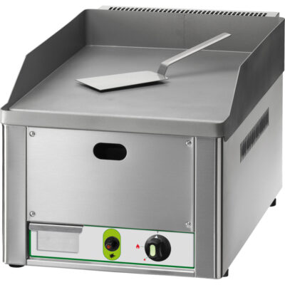 Fry top pe gaz cu suprafata neteda, 325x480mm
