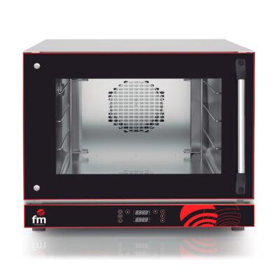 Cuptor electric digital pentru patiserie si panificatie Seria M, 4 tavi, usa cu deschidere laterala