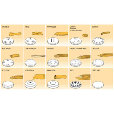 Matrita paste de diferite forme, MPF4N