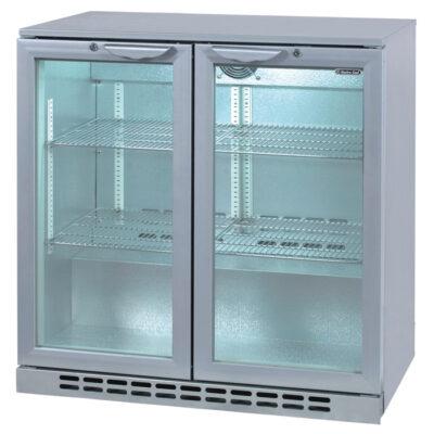 Vitrina frigorifica cu 2 usi 208 litri