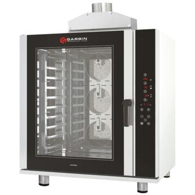 Cuptor pe gaz digital pentru patiserie PRO, 10 tavi 600x400mm