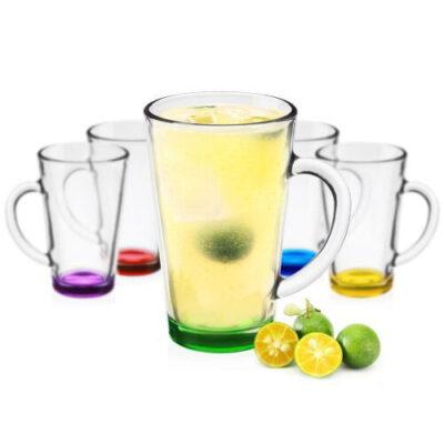 Ceasca latte IWO colorata, 30cl