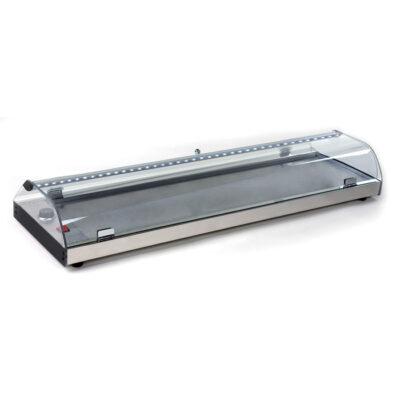 Vitrina calda, 2000x380x180mm