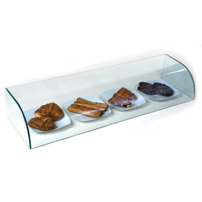 Vitrina neutra din sticla, 990x350x200mm