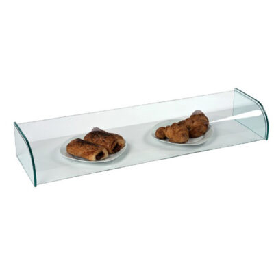 Vitrina neutra din sticla, 990x260x150mm