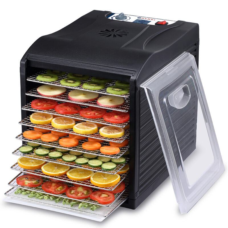Deshidrator fructe si legume, 9 tavi