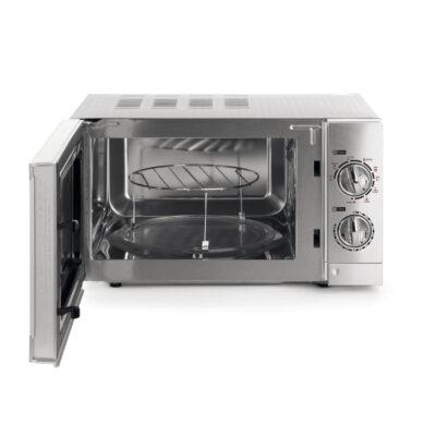 Cuptor cu microunde cu functie grill, 15 litri