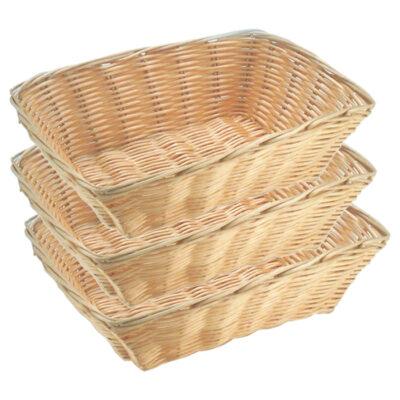 Set 3 cosuri pentru paine 230x180mm