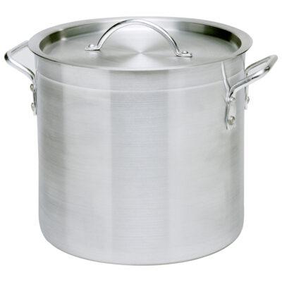 Oala cu capac din aluminiu 15.5 litri