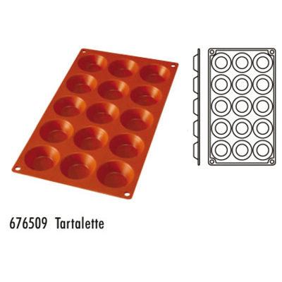 Forma pentru copt din silicon GN1/3-tipul tartalette
