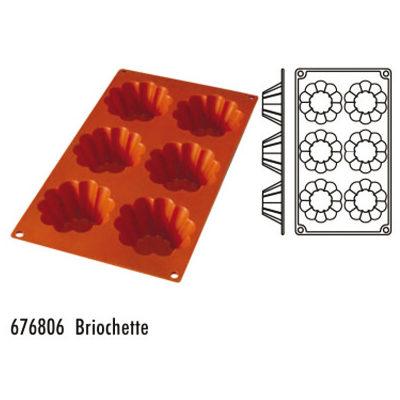 Forma pentru copt din silicon GN1/3-tipul briochette