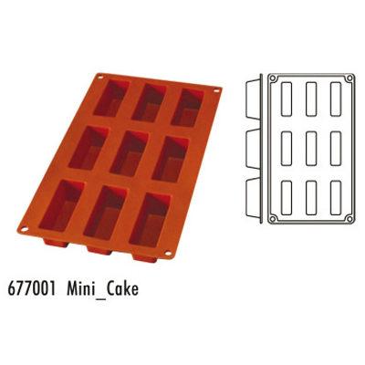 Forma pentru copt din silicon GN1/3-tipul mini-cake