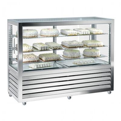 Vitrina frigorifica pentru cofetarie/patiserie, 1565x620mm