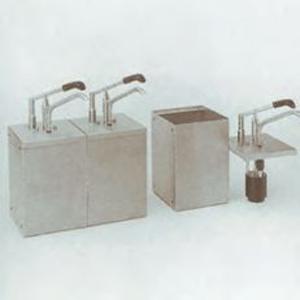 Dozator din inox cu recipient, 5 litri