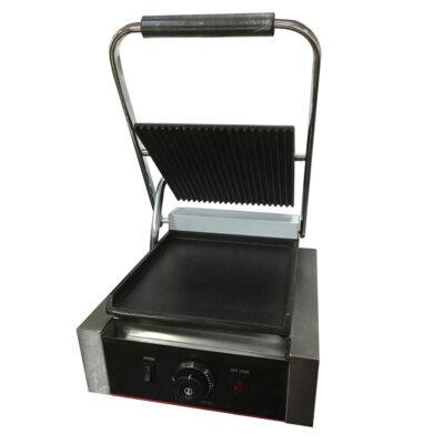 Toaster cu mecanism prin apasare pe placi netede/striate, 305x370mm