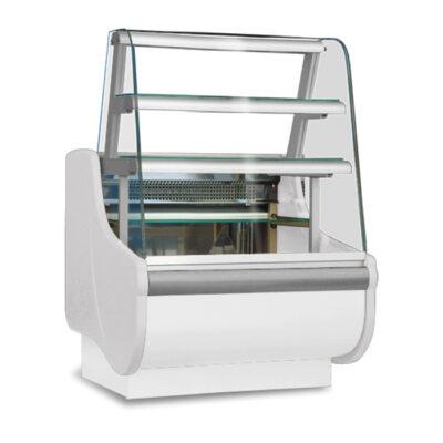 Vitrina frigorifica pentru cofetarie/patiserie BEATA 2, 990mm