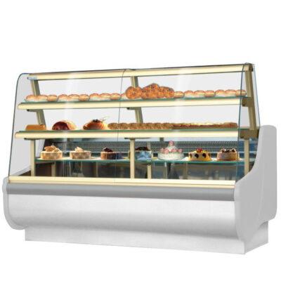 Vitrina frigorifica pentru cofetarie/patiserie BEATA 2, 1605mm