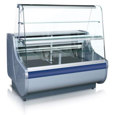 Vitrina frigorifica pentru cofetarie/patiserie BEATA 3, 1605mm