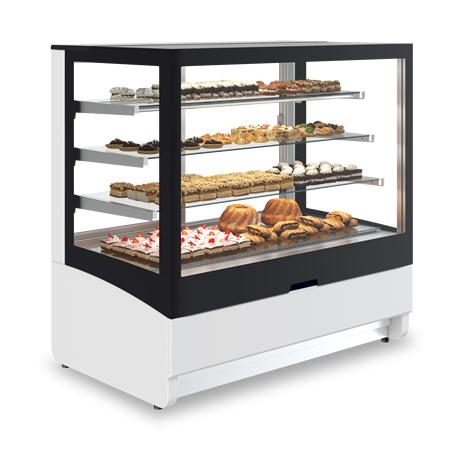 Vitrina frigorifica orizontala pentru cofetarie/patiserie INNOVA, 1000mm