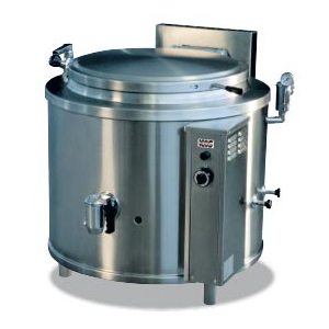 Marmita pe gaz cu incalzire directa, capacitate 500 litri