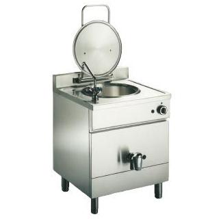Marmita pe gaz, incalzire directa, capacitate 50+50 litri