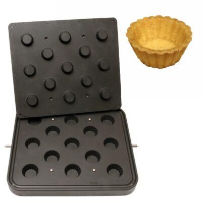 Placa aparat tarte, 13 forme de briosa 50mm