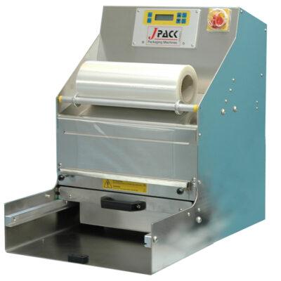 Masina semiautomata de sigilat caserole cu 3 tipuri de etansare