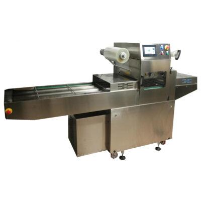 Masina automata pentru sigilat caserole, 2700x940x1490mm