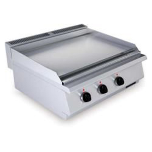 Fry top electric cu suprafata neteda, 800x730mm