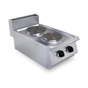 Masina de gatit electrica cu 2 plite, 400x730mm