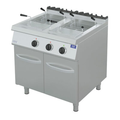 Masina electrica de gatit paste, 22+22 litri