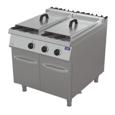 Friteuza electrica, 22+22 litri