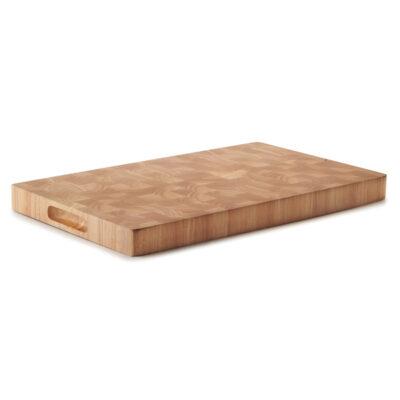 Blat de taiere din lemn de cauciuc, 53x32.5cm