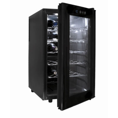Vitrina frigorifica pentru vin, 18 sticle