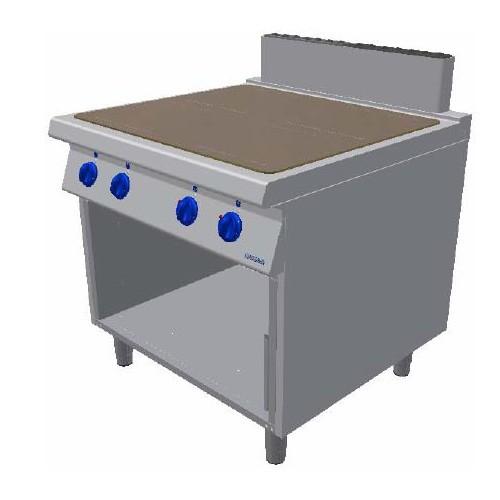 Masina de gatit electrica cu plita vitroceramica si cadru deschis