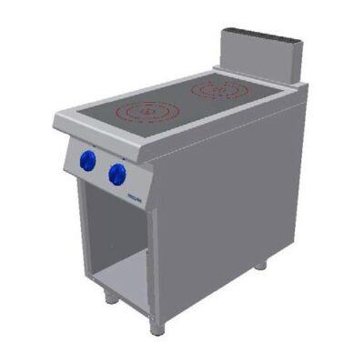 Masina de gatit electrica cu inductie, 2 zone coacere si cadru deschis