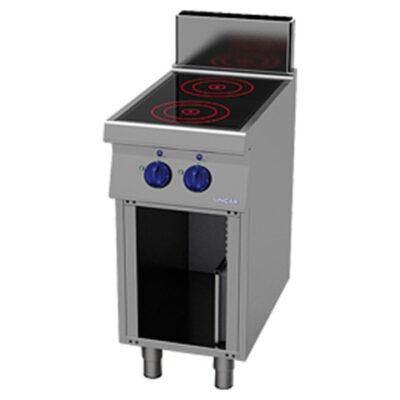Masina de gatit cu inductie si suport deschis, 400x900mm