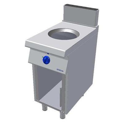 Masina de gatit cu inductie si suport deschis - tip WOK, 400x900mm