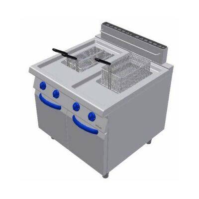 Friteuza electrica, 17+17 litri