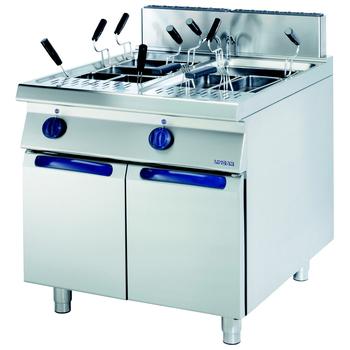 Masina de gatit paste electrica 40+40 litri cu dulap